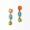 Vibrance Gemstone Drop Earrings