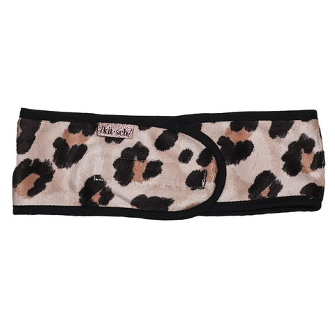 Spa Headband Black Dot