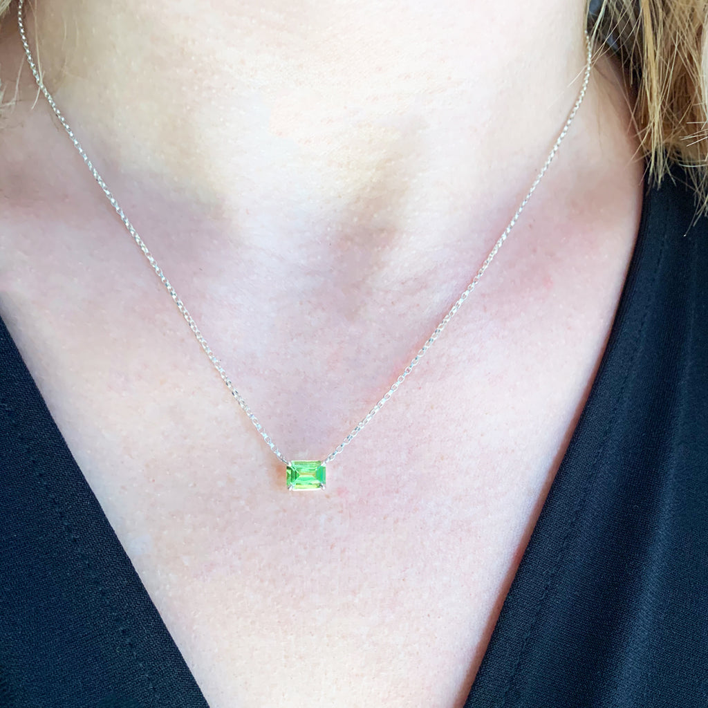 Yara Peridot Necklace