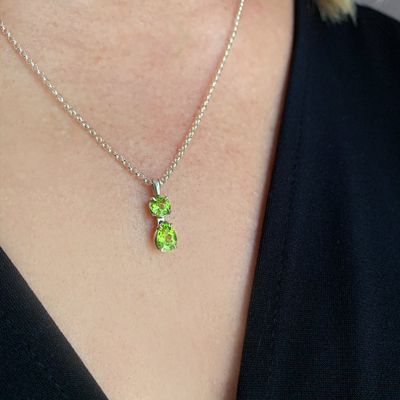 Clara Peridot Necklace