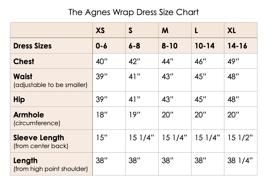 Agnes Wrap Dress in Black