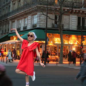 Mini Milly in Paris