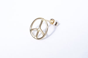 Peace Sign Stud by Talisman