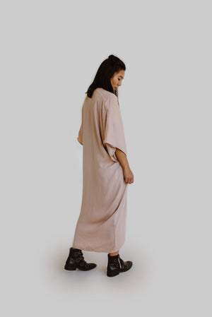 The Nina Dress in Light Pink