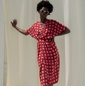 Sampa Dress in Queen Me