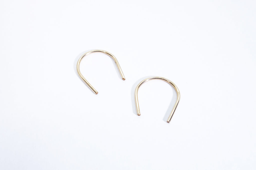 U earrings by Talisman