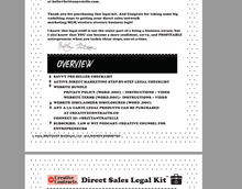 Direct Sales Legal Kit