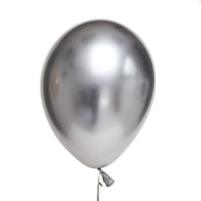 Chrome Latex Balloons - Gold, Rose Gold, Silver