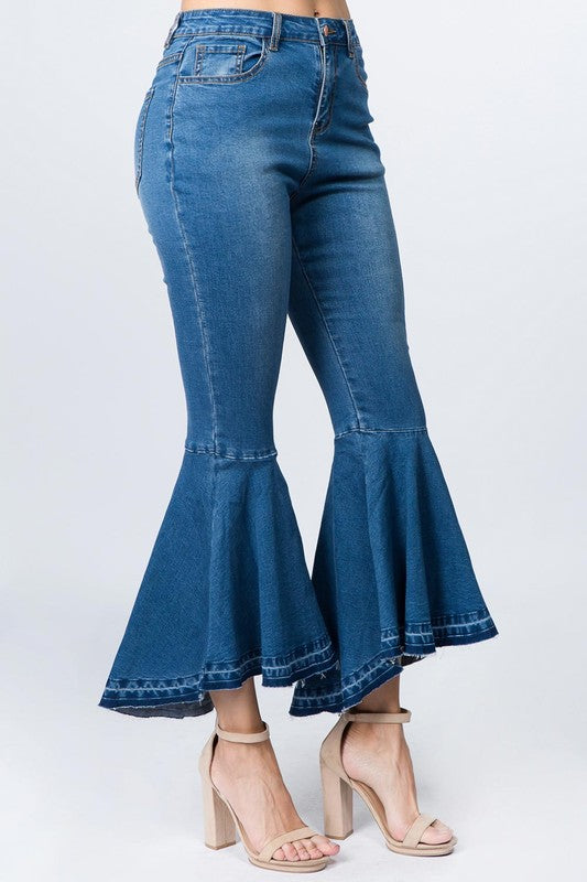 Ankle Bell Jeans