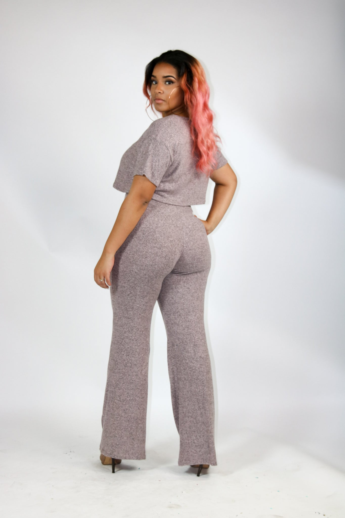 Two Piece Pants Set