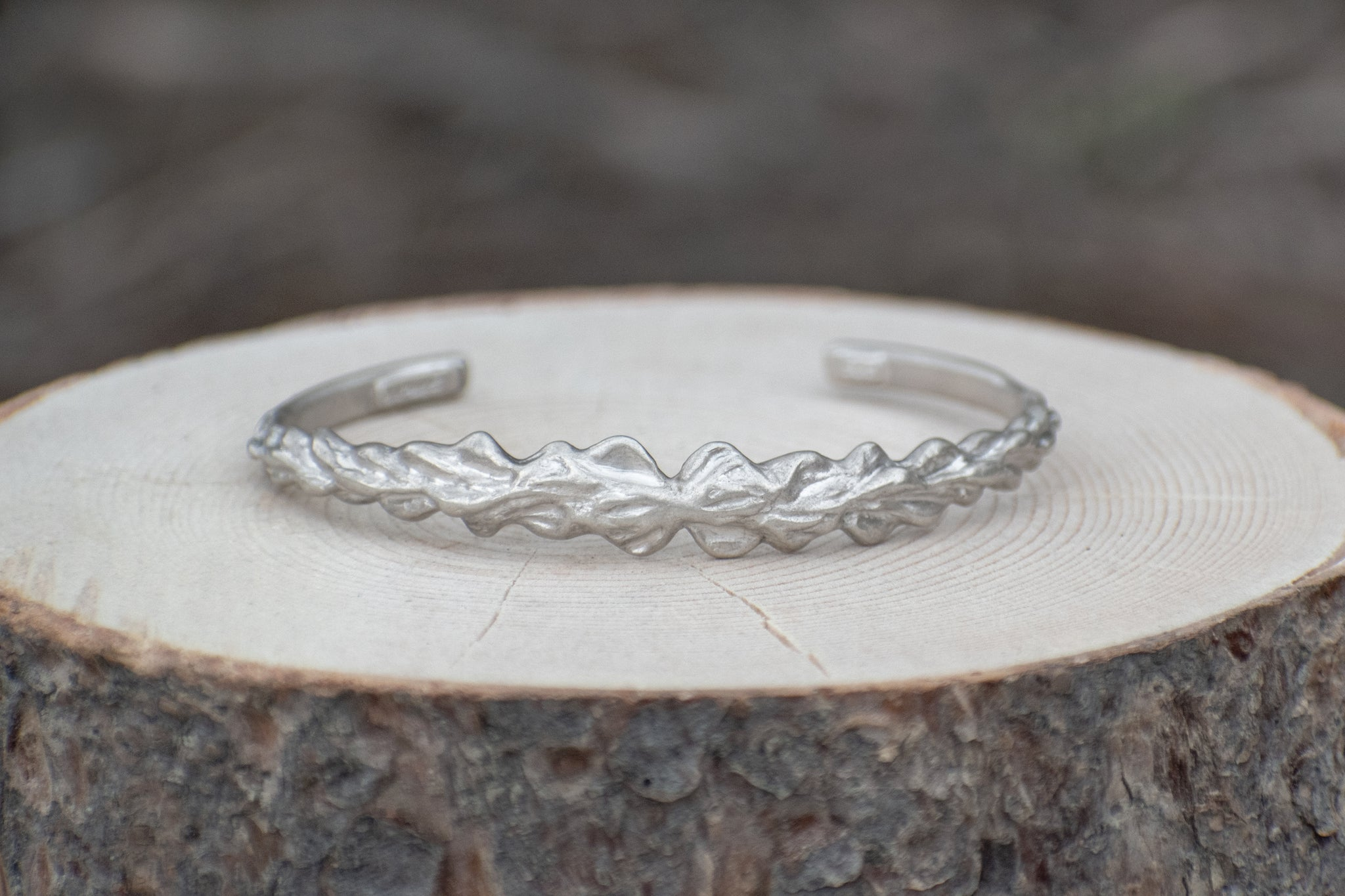 Narrow Lupine Cuff