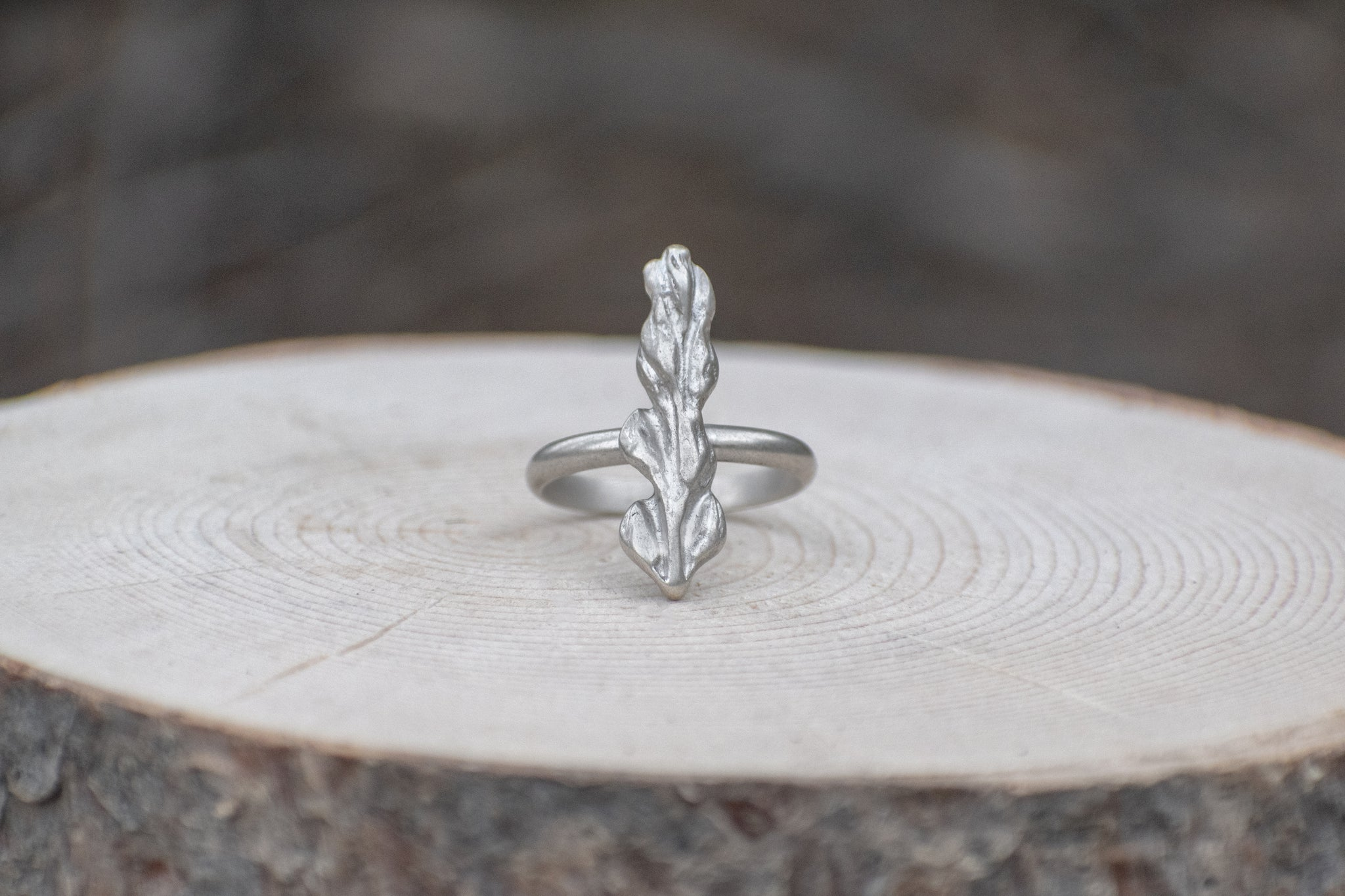 Vertical Lupine Ring