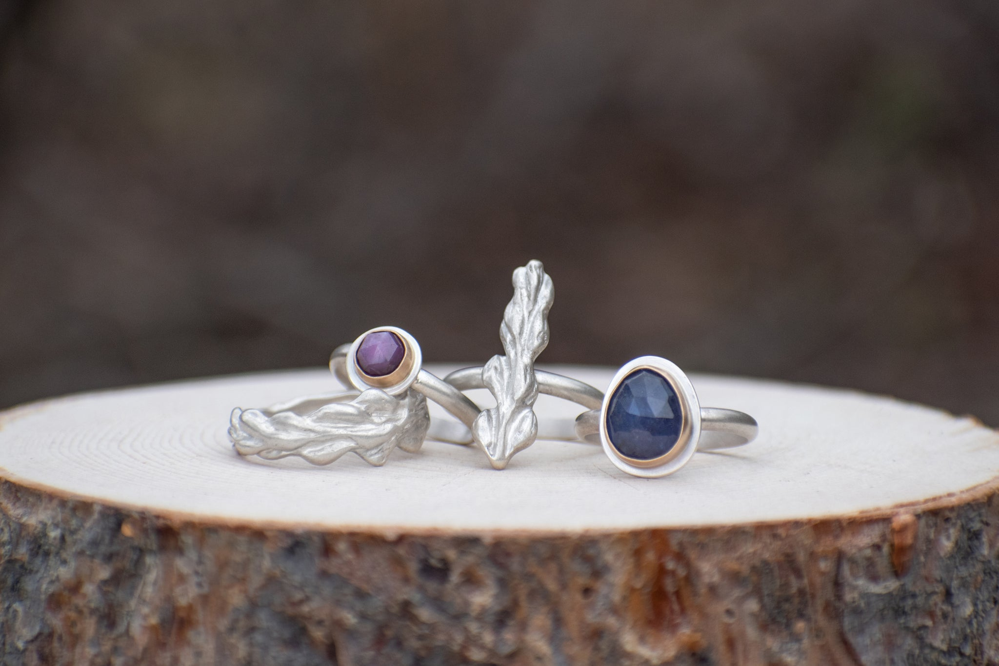 Wrap Around Lupine Ring