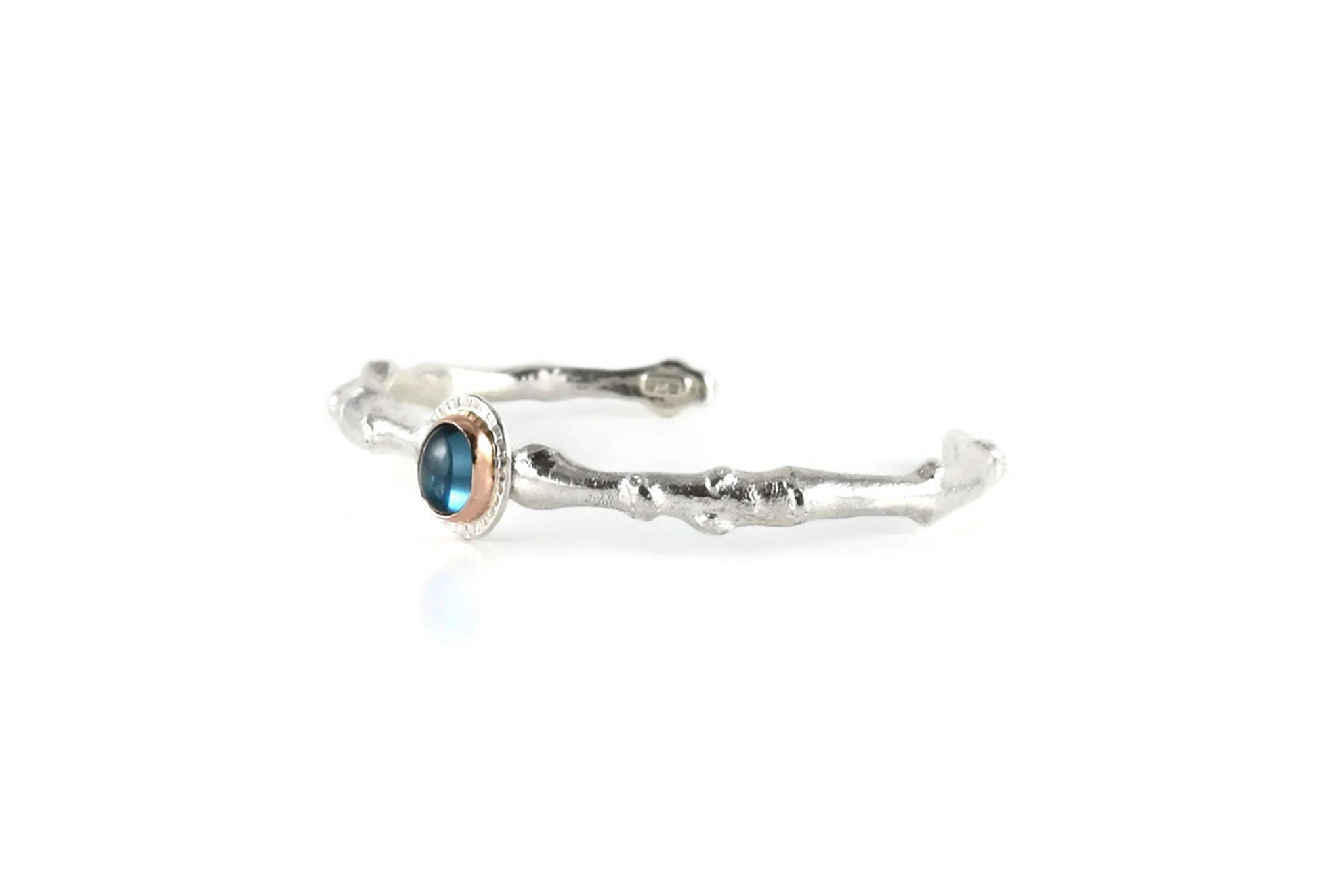 Twig Cuff with London Blue Topaz