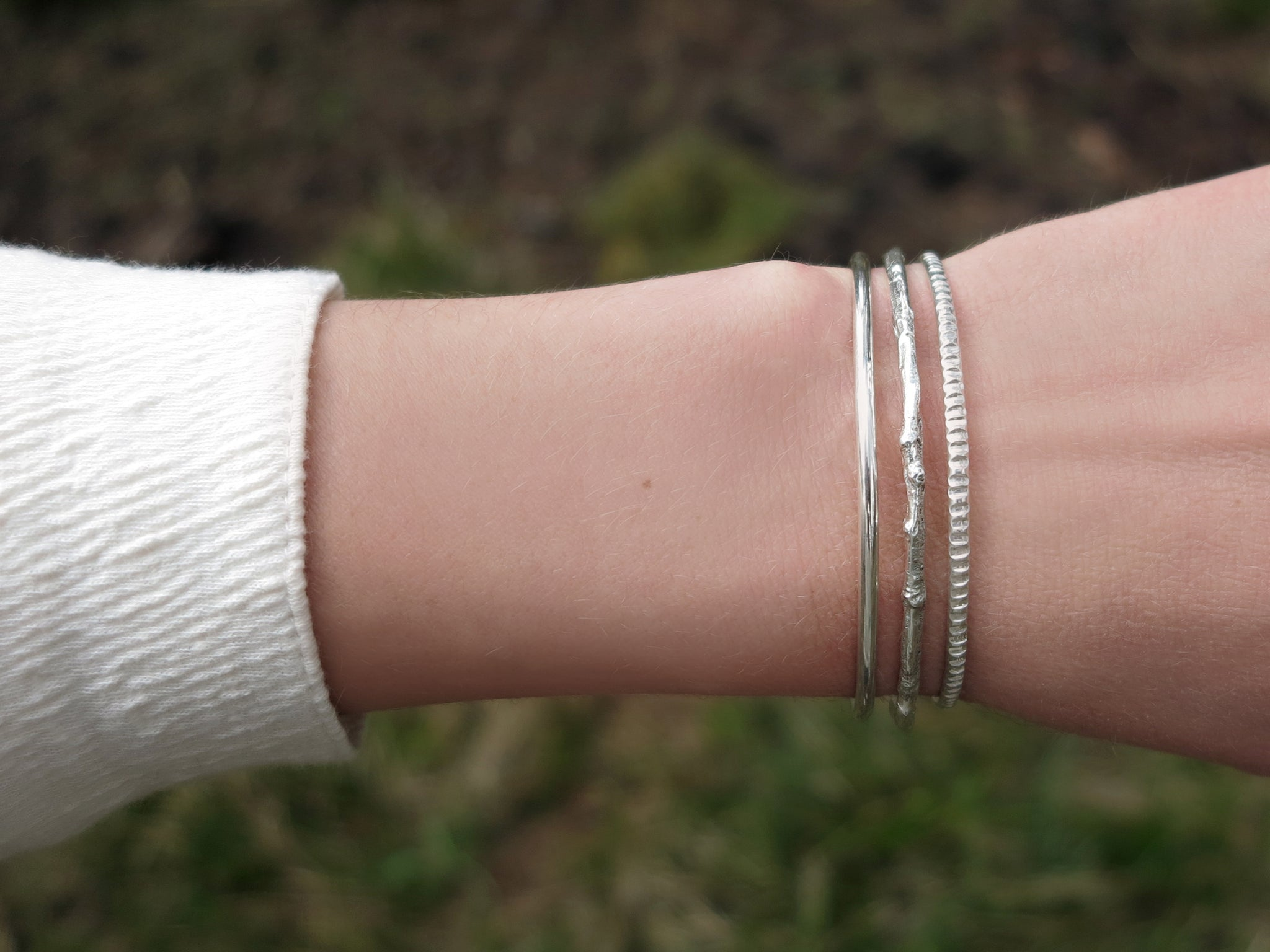Stackable Bangle Set