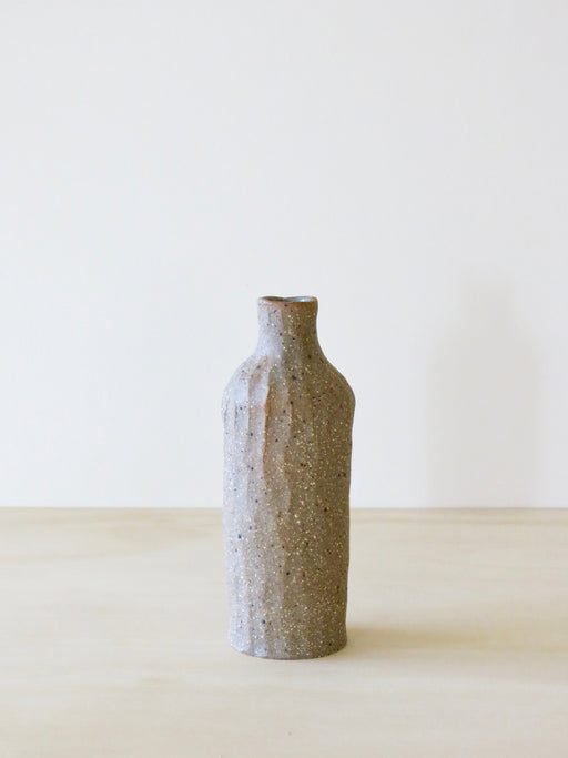 Naked Clay Vase (Mini) Grey