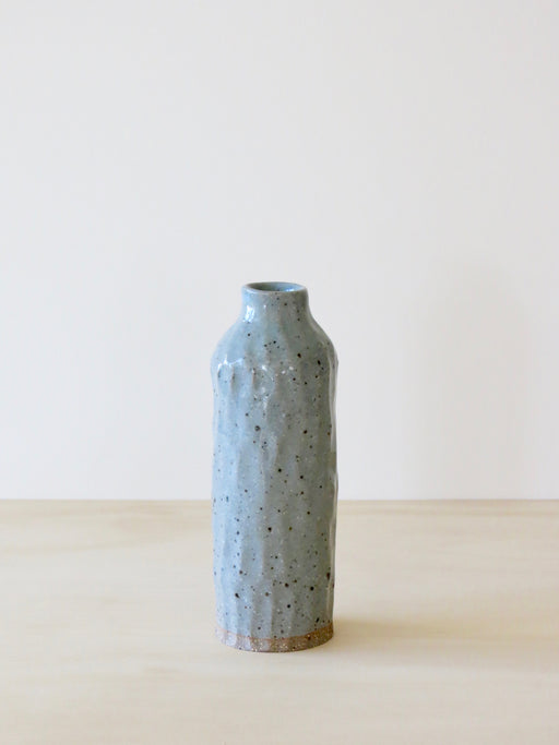 Naked Clay Vase (Mini) Eggshell Blue