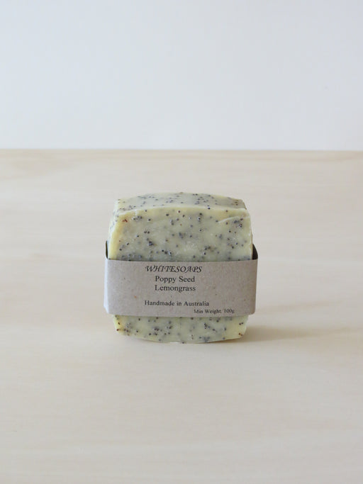 Poppy seed and lemograss soap