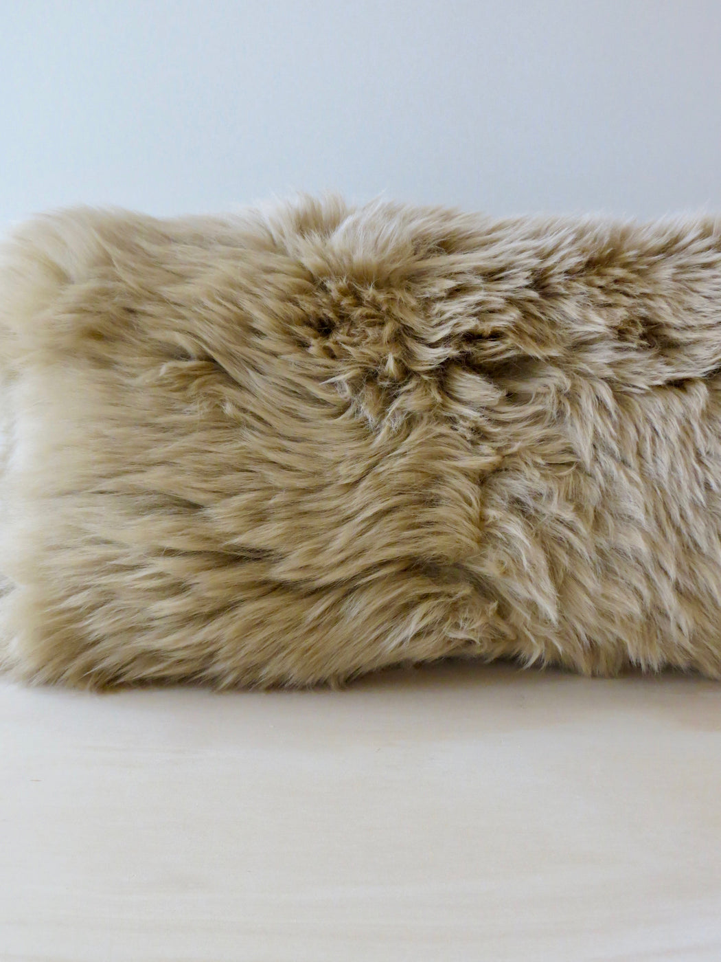 Freida long-haired sheepskin, Camel