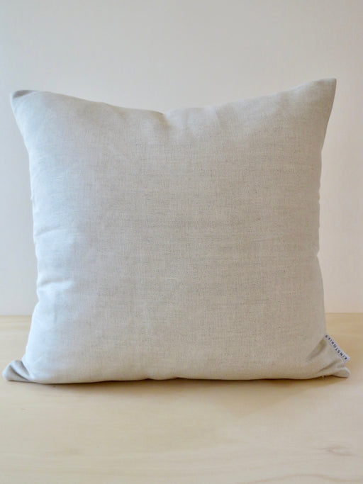 Belgian cotton/linen cushion cover, Oatmeal