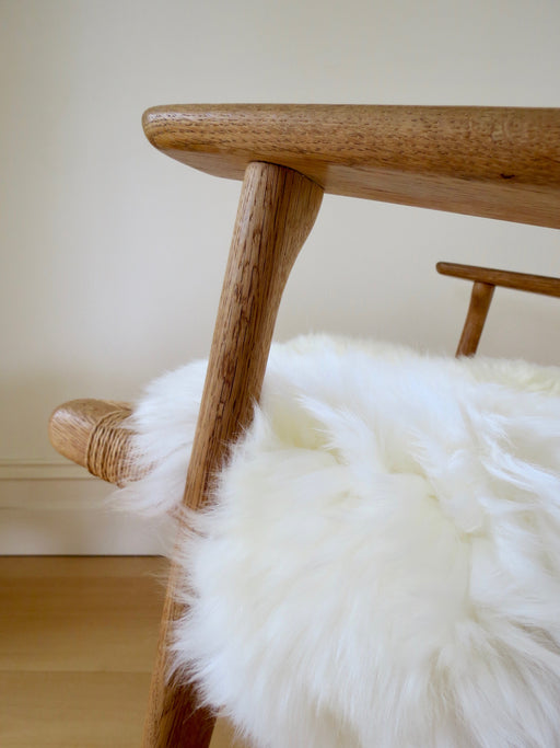 Freida Long-haired Sheepskin Ivory