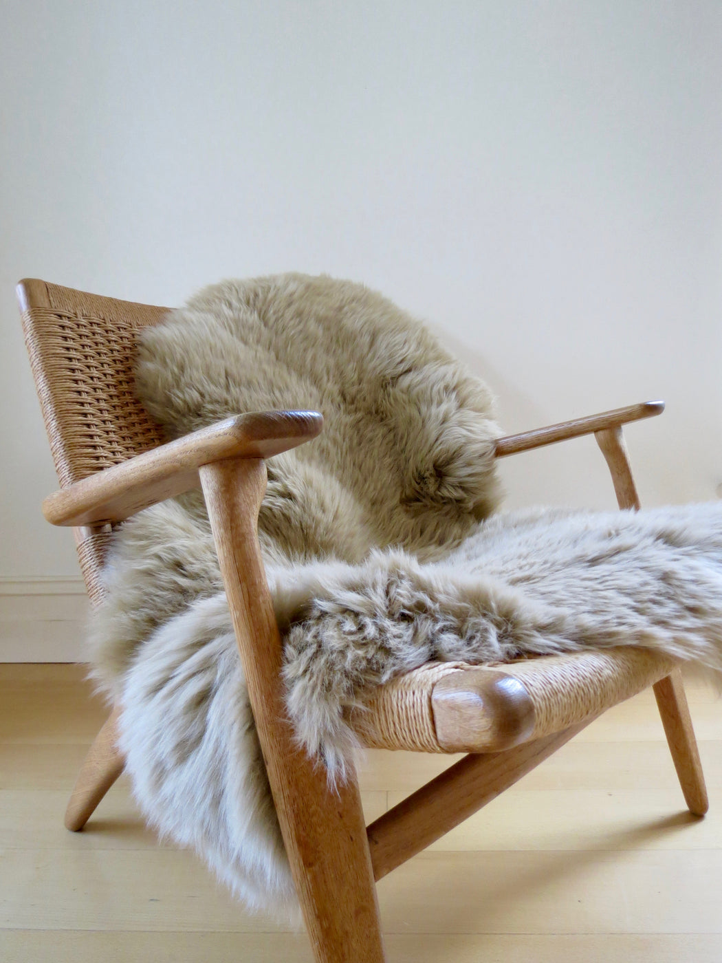 Freida Long-haired Sheepskin Caramel