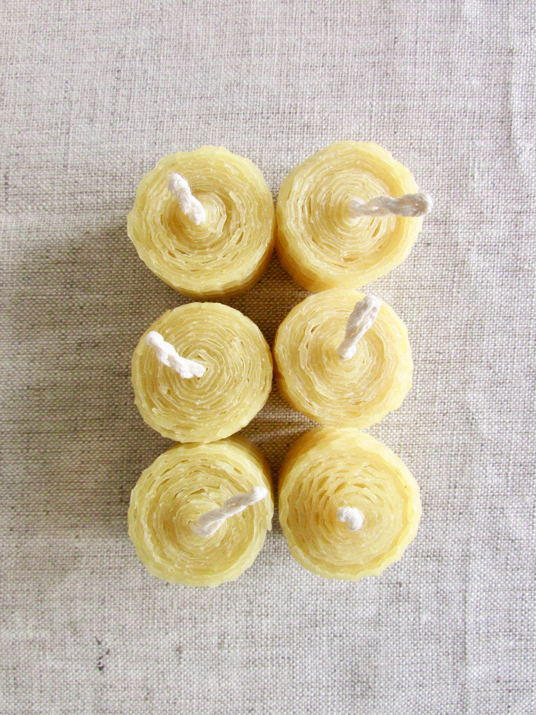 Honey tea light candles