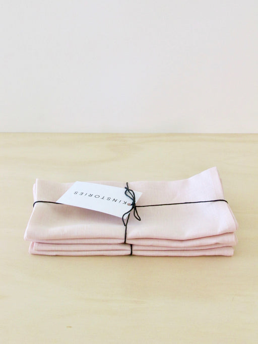 Linen Napkin Blush, Set of 2