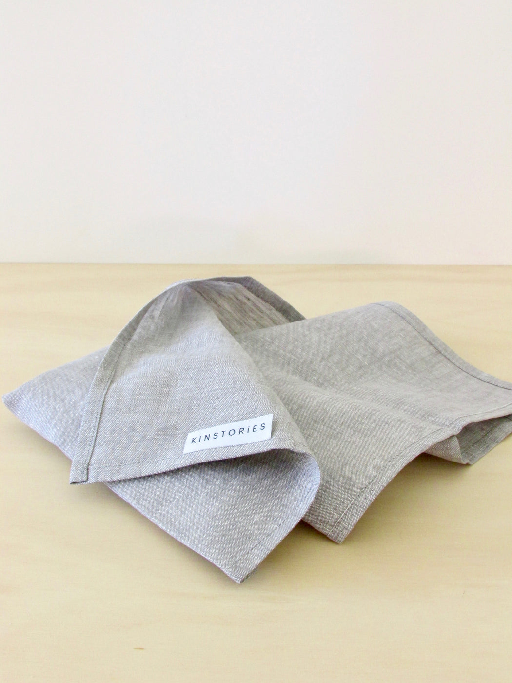 Pure linen napkin, Mist (set of 2)