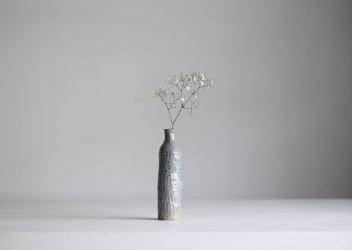 Naked Clay Vase (Small) Eggshell Blue