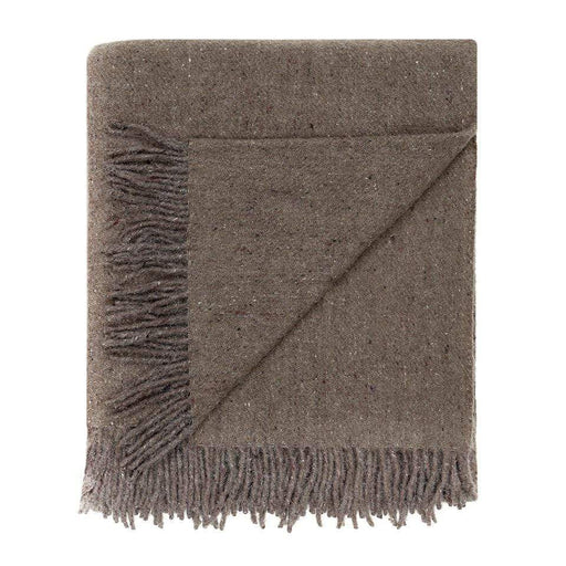 Recycled Wool Throw, Hazel