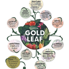 Load image into Gallery viewer, LIQUID GOLD LEAF Plant Food