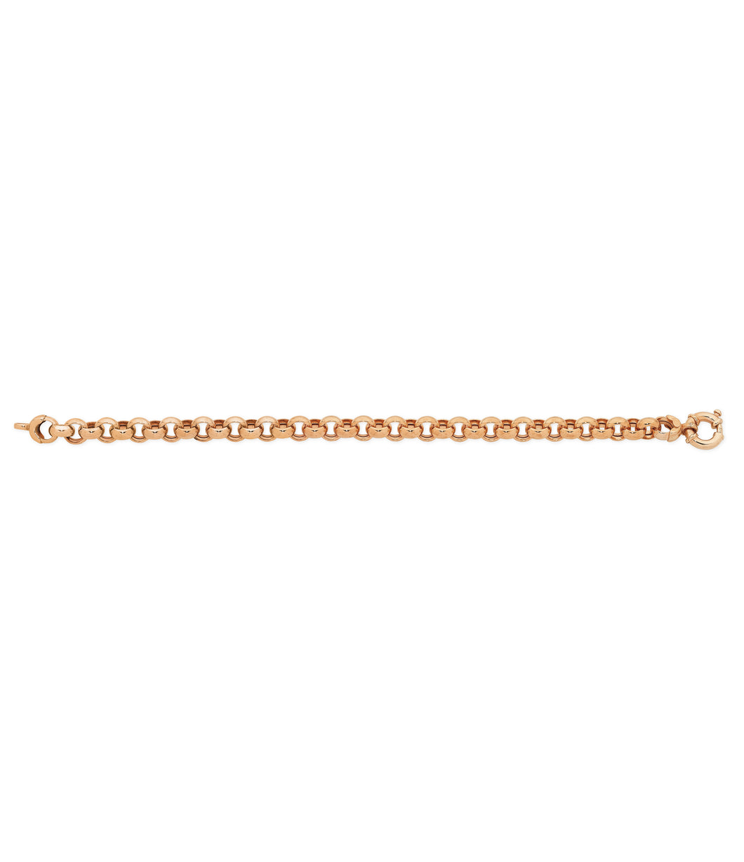 9ct Rose Gold Bracelet