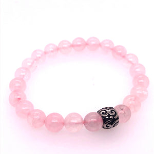 Rose Quartz Inspiration Bracelet