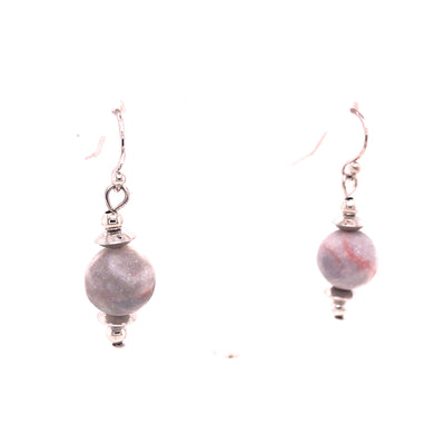 Pink Matrix Earrings