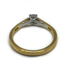 Load image into Gallery viewer, 18ct Yellow Gold - 0.30ct - Diamond Ring.