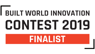 Moasure selected as a finalist in Built World Innovation Contest