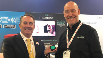 Rt. Hon. Dr Liam Fox meets Alan Rock at CES 2019