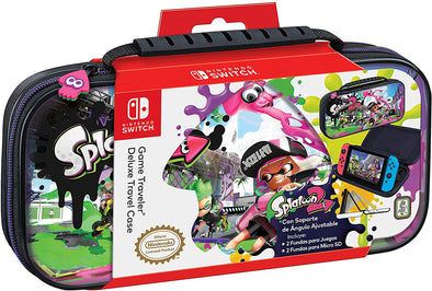 Funda Deluxe Oficial Splatoon 2 para Nintendo Switch
