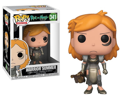 Funko POP - Warrior Summer - Rick y Morty