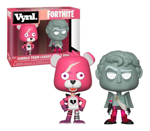 Funko Vynil - Cuddle Team Leader + Love Ranger - Fortnite