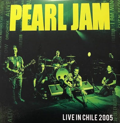 Vinilo Pearl Jam – Live in Chile 2005