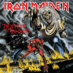 Vinilo Iron Maiden – The number of the beast