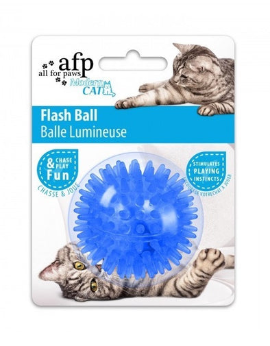 Pelota Flash para gatos