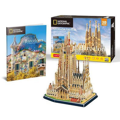 Puzzle Sagrada Familia National Geographic
