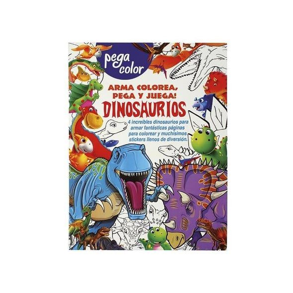 Pack 2 Libros Pega Color Animales