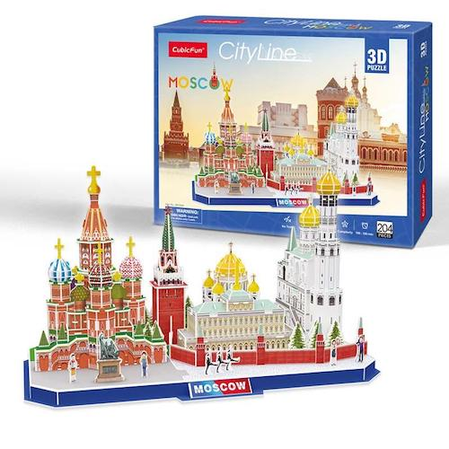 Puzzle Moscow City Line