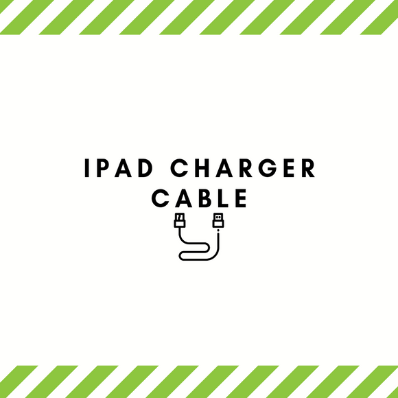 iPad charger cables