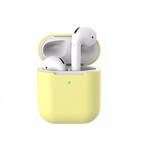 Apple Airpods 2 Case Front View Yellow