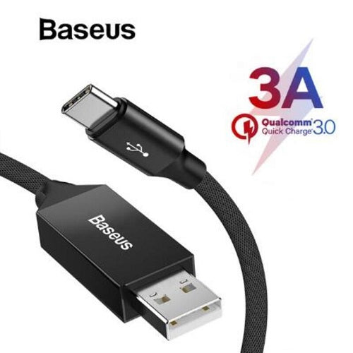 Baseue 5 Meter USB Type C Charger Cable 3A Quick Charge